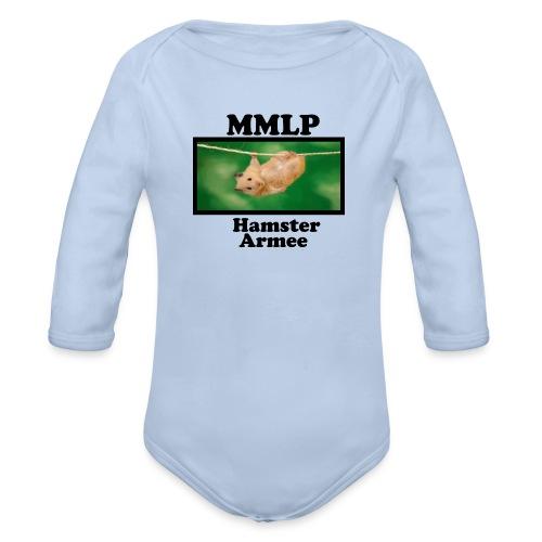 HamsterArmee - Baby Bio-Langarm-Body