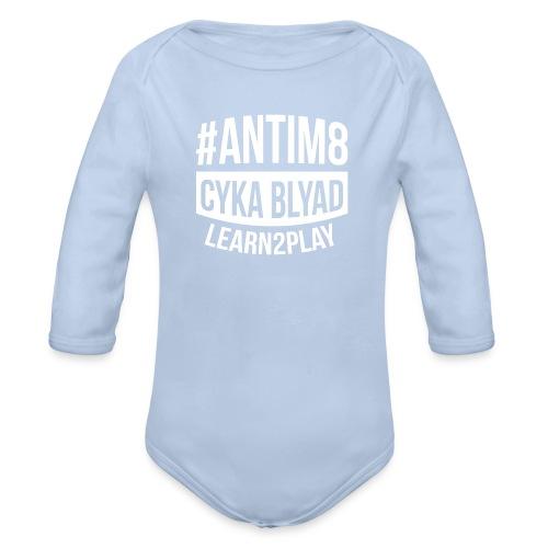 Active-Players.net Merch Collection: #ANTIM8 - Baby Bio-Langarm-Body