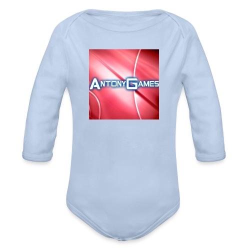 AntonyGames - Baby bio-rompertje met lange mouwen