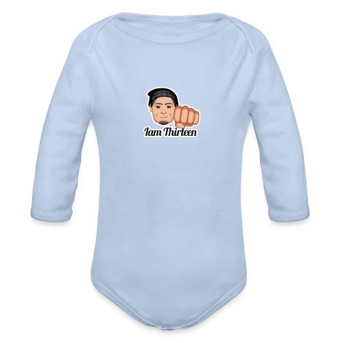 IAM THIRTEEN - Organic Longsleeve Baby Bodysuit