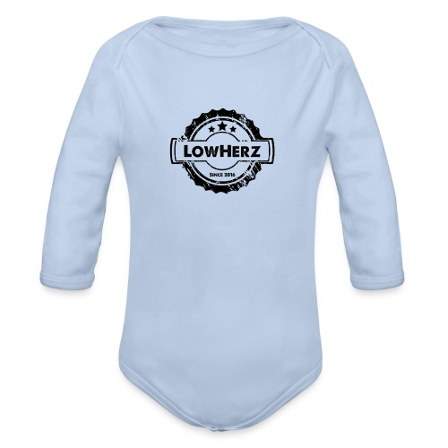 LowHerz - Baby Bio-Langarm-Body