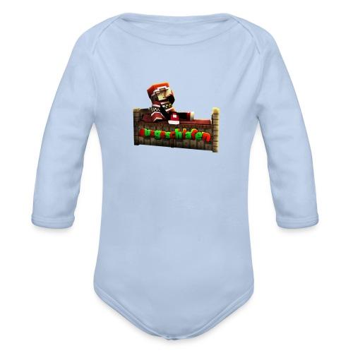 #Ausgeschlafen Weihnachts-Hoddie - Baby Bio-Langarm-Body
