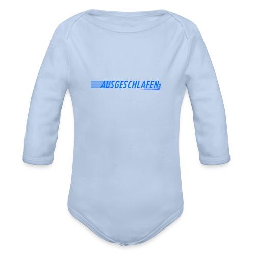 Ausgeschlafene HandyHülle - Baby Bio-Langarm-Body