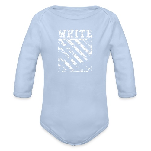 Off-White Streetwear - Langærmet babybody, økologisk bomuld