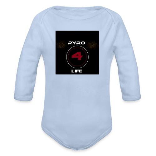 Pyro4Life - Baby Bio-Langarm-Body