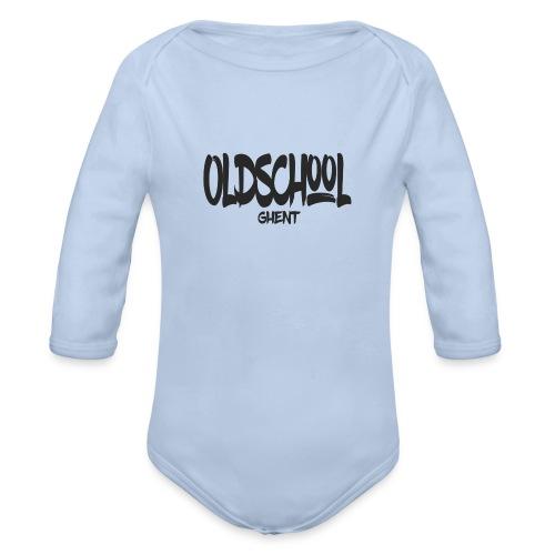 ostext - Baby bio-rompertje met lange mouwen