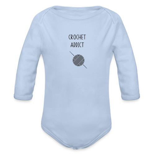 CROCHET ADDICT - Body bébé bio manches longues
