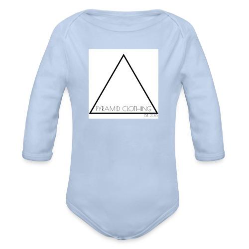 OFFICIAL LOGO 2016/17 - Organic Longsleeve Baby Bodysuit
