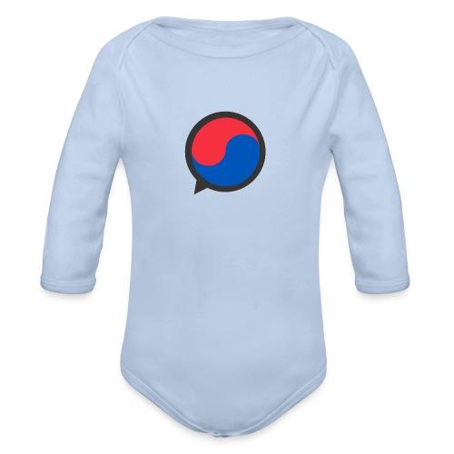 Black Icon - Organic Longsleeve Baby Bodysuit