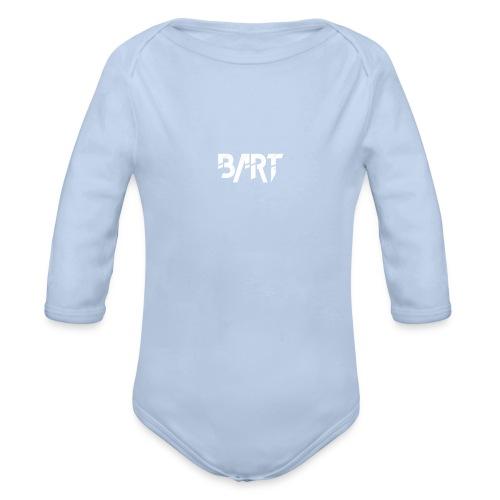 Bart Official Logo - Organic Longsleeve Baby Bodysuit