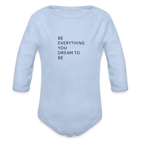 Dreamer - Vauvan pitkähihainen luomu-body