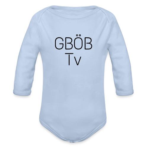 GBÖB Tv - Baby Bio-Langarm-Body
