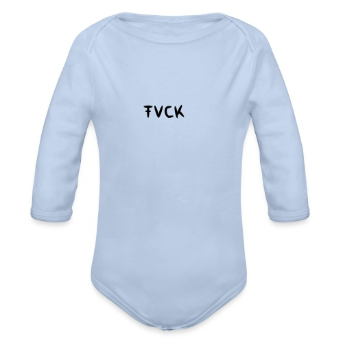 FVCK FASHION COLLECTION - Baby Bio-Langarm-Body