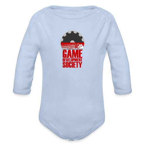 Game Development Society Cap - Organic Longsleeve Baby Bodysuit