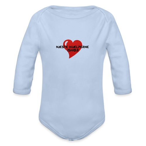 Næste-Hjælperne-Ishøj - Langærmet babybody, økologisk bomuld