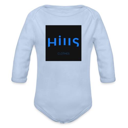 hillls-logo-dark - Body bébé bio manches longues