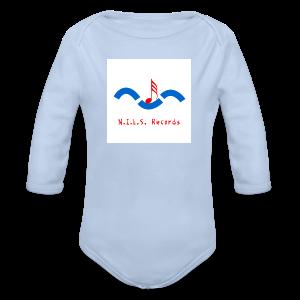 N.I.L.S. Records Logo - Baby Bio-Langarm-Body
