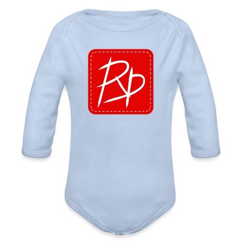 Provoke Designs Red Square - Organic Longsleeve Baby Bodysuit