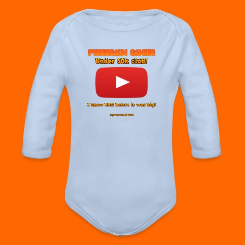 PRG 50k Tshirt - Organic Longsleeve Baby Bodysuit