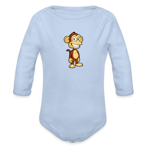MistaMonkey - Organic Longsleeve Baby Bodysuit