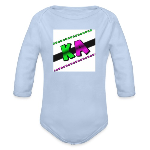 Kevin Alves Fan - Organic Longsleeve Baby Bodysuit