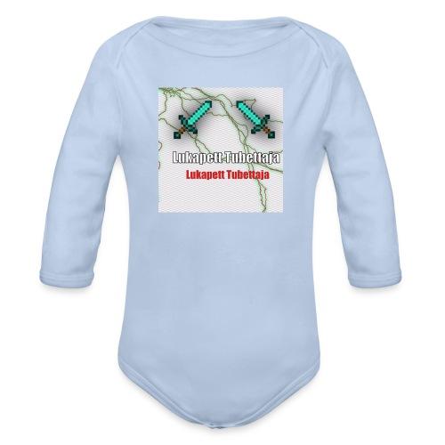 Youtube prof - Organic Longsleeve Baby Bodysuit