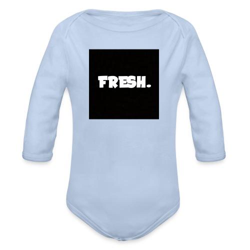 FreshTube Mok - Baby bio-rompertje met lange mouwen