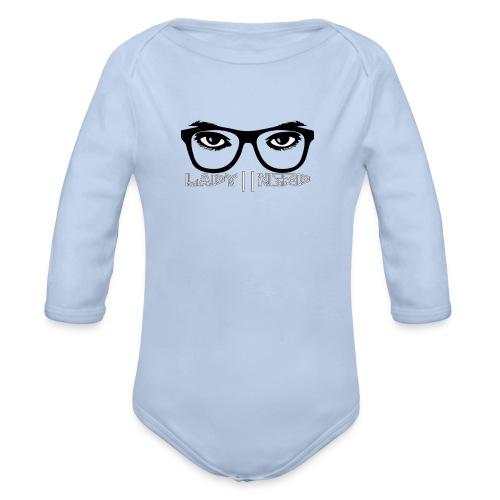 Lady Nerd - Organic Longsleeve Baby Bodysuit