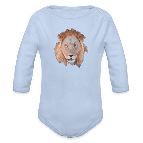 Lion6 - Ekologisk långärmad babybody