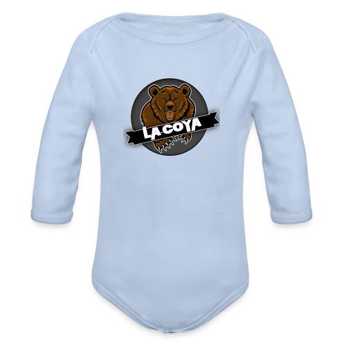 Bøjrn - Langærmet babybody, økologisk bomuld