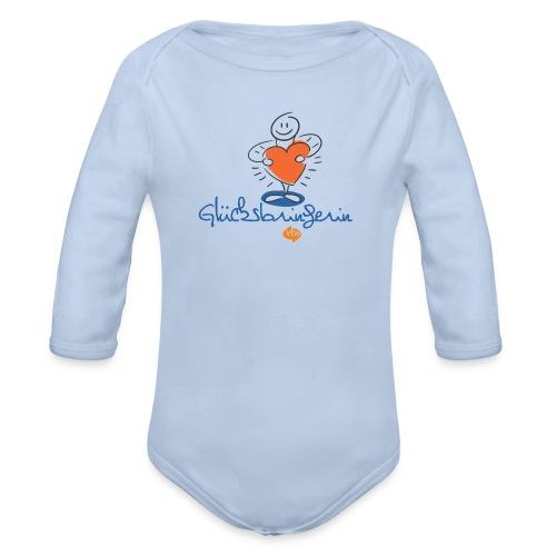 vtw Glücksbringerin - Baby Bio-Langarm-Body