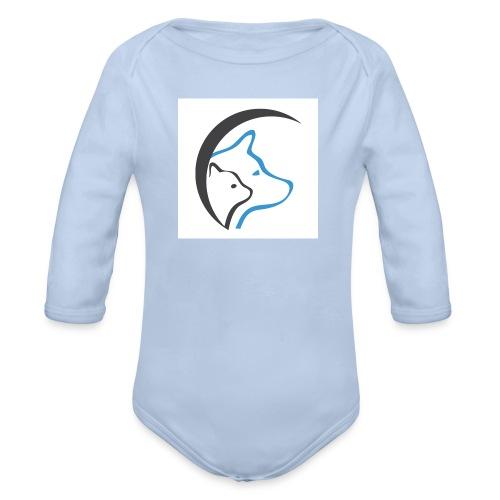 Plain Logo - Organic Longsleeve Baby Bodysuit