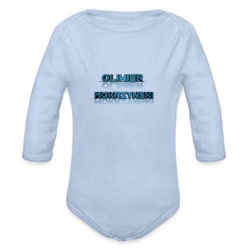 Oliwier Mokrzynski teddy - Organic Longsleeve Baby Bodysuit