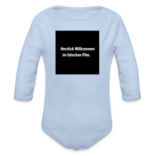 Willkommen im Falschen Film - Baby Bio-Langarm-Body