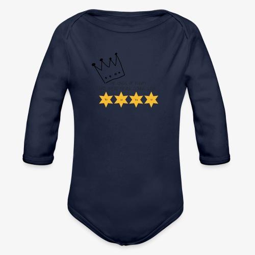 The Kings of Rugby (Kids) - Organic Longsleeve Baby Bodysuit
