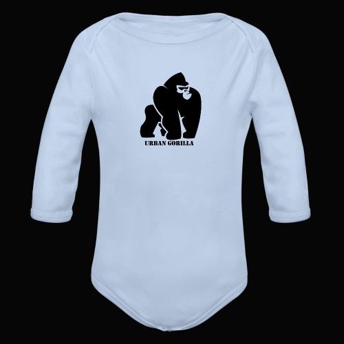 Gorilla - Body orgánico de manga larga para bebé