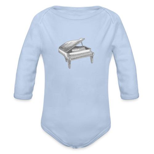 Piano Art - Body bébé bio manches longues