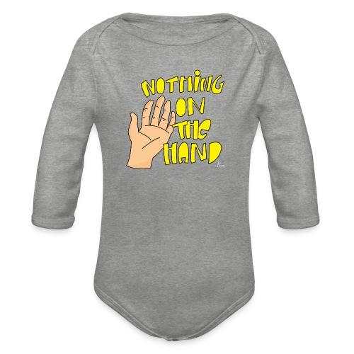 Nothing on the hand - Baby bio-rompertje met lange mouwen