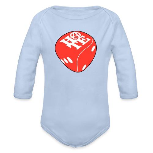 Red - Organic Longsleeve Baby Bodysuit