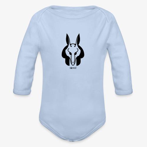 Anubi Soggetto1 - Body ecologico per neonato a manica lunga