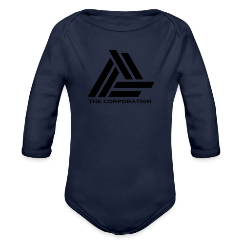 zwart metnaam keertwee png - Organic Longsleeve Baby Bodysuit