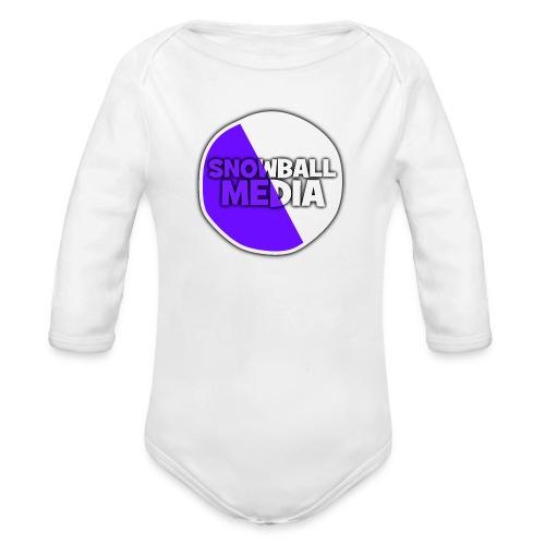 Snowball Media - Organic Longsleeve Baby Bodysuit