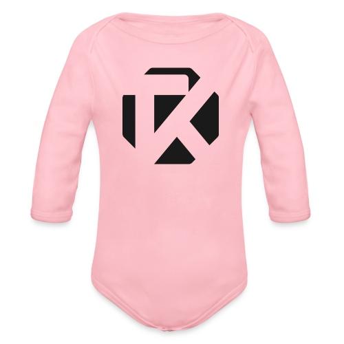 Logo TK Noir - Body Bébé bio manches longues