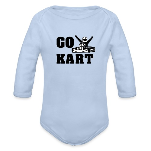 Go kart - Body Bébé bio manches longues