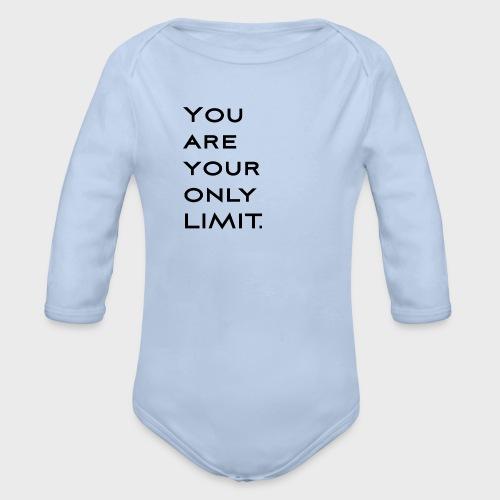 Limit Black - Baby Bio-Langarm-Body