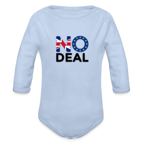 No Deal - Organic Longsleeve Baby Bodysuit
