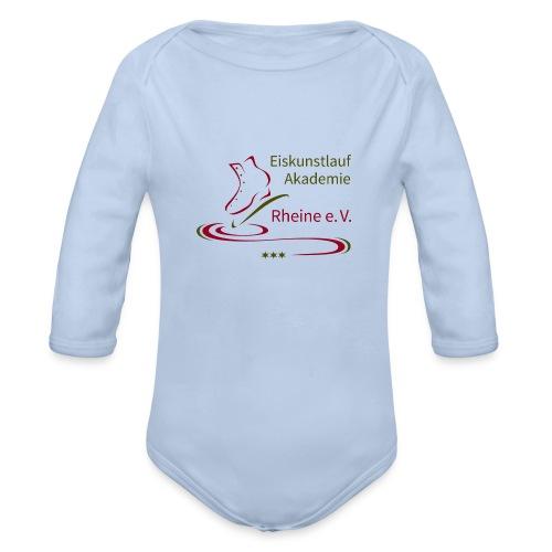 Original Logo Eiskunstlauf Akademie Rheine e.V. - Baby Bio-Langarm-Body