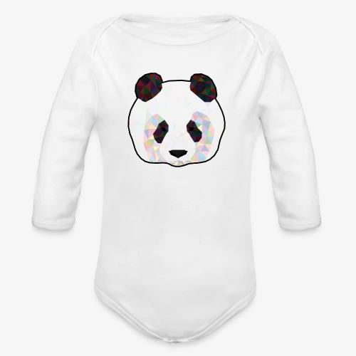 Panda - Body Bébé bio manches longues