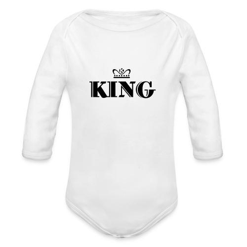 King - Baby Bio-Langarm-Body