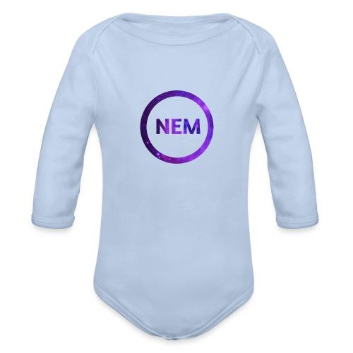 NEM OWNER - Vauvan pitkähihainen luomu-body